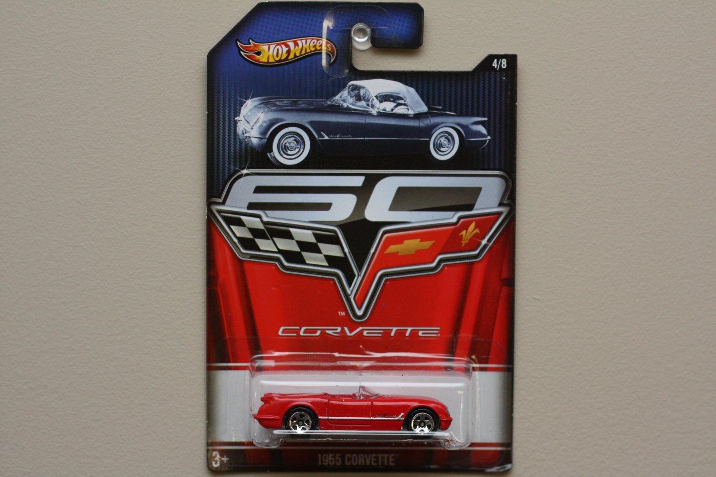 Hot Wheels 2013 Corvette 60th Anniversary 1955 Corvette