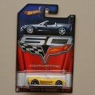 Hot Wheels 2013 Corvette 60th Anniversary Corvette C6 Convertible