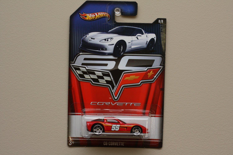 Hot Wheels 2013 Corvette 60th Anniversary C6 Corvette