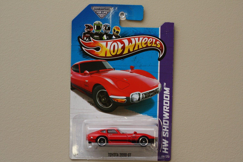 Hot Wheels 2013 HW Showroom Toyota 2000 GT (red)