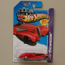 Hot Wheels 2013 HW Showroom Custom Cadillac Fleetwood (red) (SEE CONDITION)