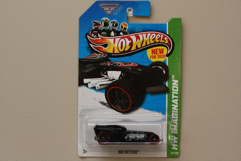 Hot Wheels 2013 HW Imagination Bad Ratitude (black)