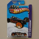 Hot Wheels 2013 HW Showroom Tire Fryer (black) (KROGER SCAVENGER HUNT)