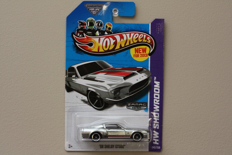 Hot Wheels 2013 HW Showroom '68 Shelby GT-500 (ZAMAC Silver - Walmart Excl.)