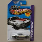 Hot Wheels 2013 HW Showroom '68 Shelby GT-500 (ZAMAC Silver - Walmart Excl.)