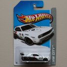 Hot Wheels 2013 HW City Dodge Challenger Drift Car (white) (Treasure Hunt)