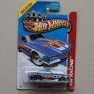 Hot Wheels 2013 HW Racing Blvd. Bruiser (blue)