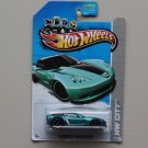 Hot Wheels 2013 HW City '11 Corvette Grand Sport (teal)