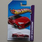 Hot Wheels 2013 HW Showroom Scion FR-S (red)
