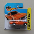 Hot Wheels 2014 HW Off-Road Datsun 620 (orange)