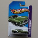 Hot Wheels 2013 HW Showroom '69 Ford Mustang (green)