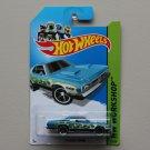 Hot Wheels 2013 HW Workshop '71 Dodge Demon (teal)