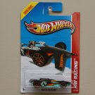 Hot Wheels 2013 HW Racing Bad To The Blade (black) (Treasure Hunt)