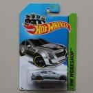 Hot Wheels 2013 HW Workshop Cadillac CTS-V (grey - Kmart Excl.)