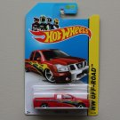Hot Wheels 2013 HW Off-Road Nissan Titan (red - Kmart Excl.)