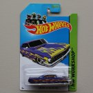 Hot Wheels 2013 HW Workshop Custom '64 Galaxie 500 (blue - Kmart Excl.)