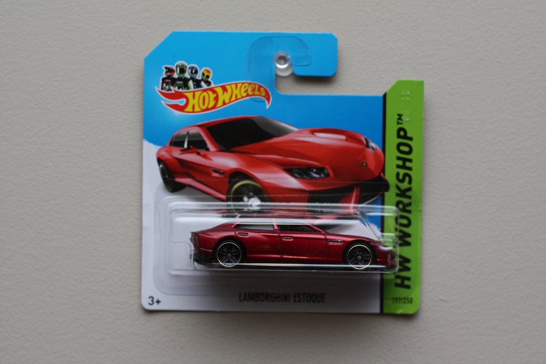 Hot Wheels 2014 Hw Workshop Lamborghini Estoque Red