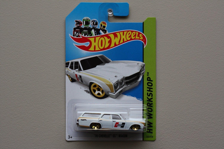 Hot Wheels 2014 HW Workshop '70 Chevelle SS Wagon (white)