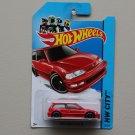 Hot Wheels 2014 HW City 1990 Honda Civic EF (red)