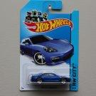 Hot Wheels 2014 HW City Porsche Panamera (blue)