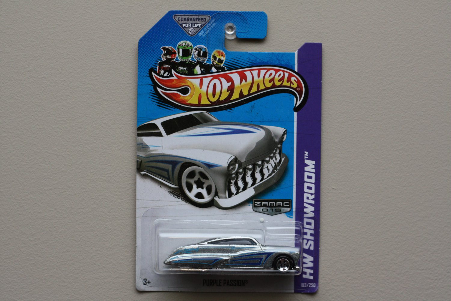 Hot Wheels 2013 HW Showroom Purple Passion (ZAMAC silver - Walmart Excl.)