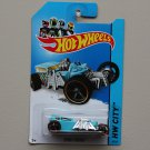 [MISSING TAMPO ERROR] Hot Wheels 2014 HW City Street Creeper (turquoise)