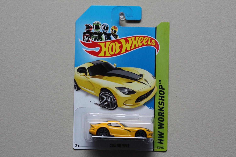 Hot Wheels 2014 HW Workshop 2013 SRT Viper (yellow)