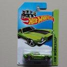 Hot Wheels 2014 HW Workshop '70 Camaro (green)