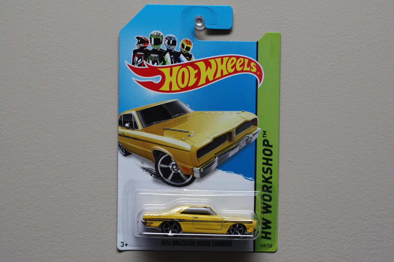 Hot Wheels 2014 Hw Workshop 1974 Brazilian Dodge Charger