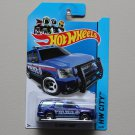 Hot Wheels 2014 HW City '07 Chevy Tahoe (blue)