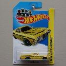 Hot Wheels 2014 HW Off-Road '72 Ford Ranchero (yellow)