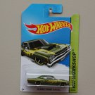 Hot Wheels 2014 HW Workshop '69 Dodge Coronet Super Bee (olive green)