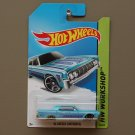 Hot Wheels 2014 HW Workshop '64 Lincoln Continental (turquoise)