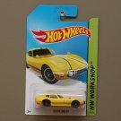 Hot Wheels 2014 HW Workshop Toyota 2000 GT (yellow)