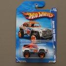 Hot Wheels 2010 HW Racing Custom Ford Bronco (white)