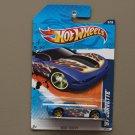 Hot Wheels 2011 Heat Fleet '97 Corvette (blue)