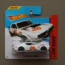 Hot Wheels 2014 HW Race '68 Mercury Cougar (white)