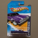 [MISSING TAMPO ERROR] Hot Wheels 2012 Muscle Mania Mopar '67 Plymouth GTX (purple)