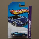[WHEEL ERROR] Hot Wheels 2013 HW Showroom Ferrari 458 Spider (blue)