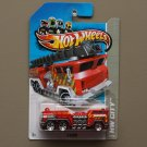 [MISSING PIECE ERROR] Hot Wheels 2013 HW City 5 Alarm (red)