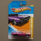 [WHEEL ERROR] Hot Wheels 2012 New Models '71 Plymouth Road Runner (purple)