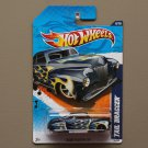 [WHEEL ERROR] Hot Wheels 2011 Heat Fleet Tail Dragger (navy blue)