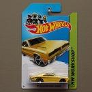 [WHEEL ERROR] Hot Wheels 2014 HW Workshop 1974 Brazilian Dodge Charger (yellow)