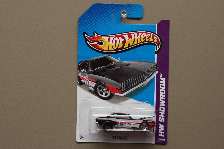 [WHEEL ERROR] Hot Wheels 2013 HW Showroom '67 Camaro (black)