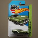 Hot Wheels 2013 HW Workshop '69 Ford Mustang (green)