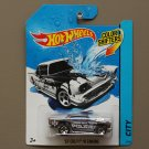 Hot Wheels 2014 Color Shifters '57 Chevy w/ Engine (black to white)