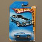 Hot Wheels 2010 New Models '71 Maverick Grabber (blue)