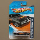 Hot Wheels 2011 HW Racing '69 Pontiac Firebird T/A (black)