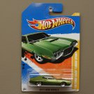 Hot Wheels 2011 New Models '72 Ford Gran Torino Sport (green)