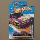 Hot Wheels 2011 Heat Fleet Customized C3500 (purple)